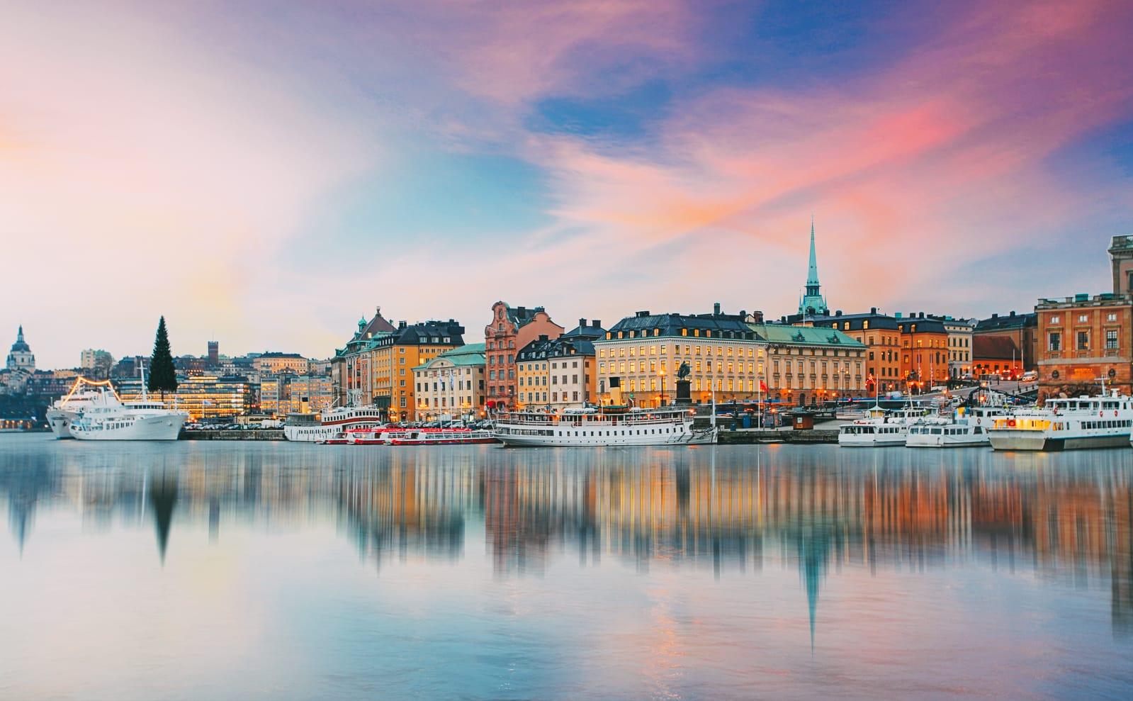 Places to visit. Sweden